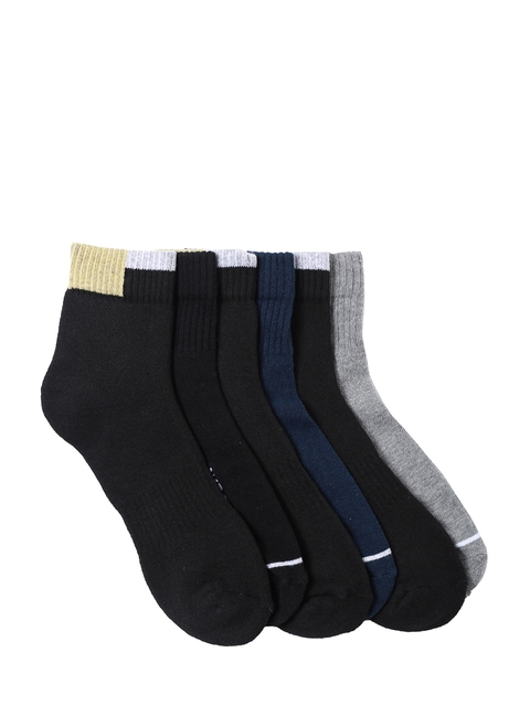 Wrangler Men Set of 6 Above Ankle-Length Socks