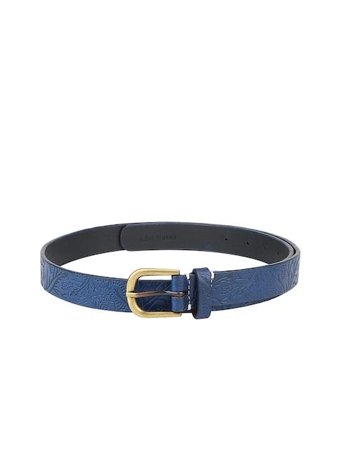 Aditi Wasan Women Blue Textured Belt