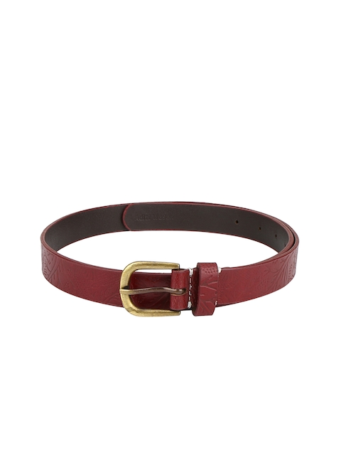 Aditi Wasan Women Red Textured Belt
