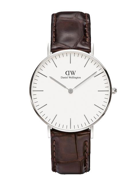 Daniel Wellington Classic York Women White Analogue Watch DW00100055