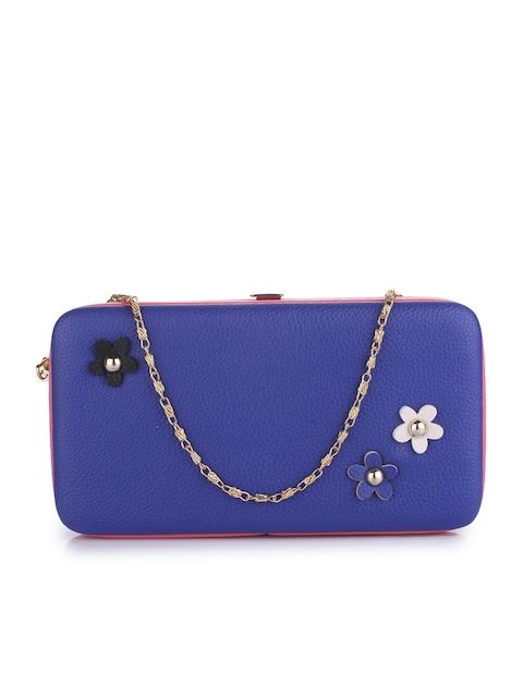 Alvaro Castagnino Women Blue Solid Two Fold Wallet