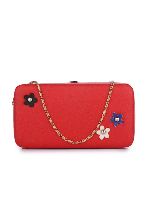Alvaro Castagnino Women Red Solid Two Fold Wallet