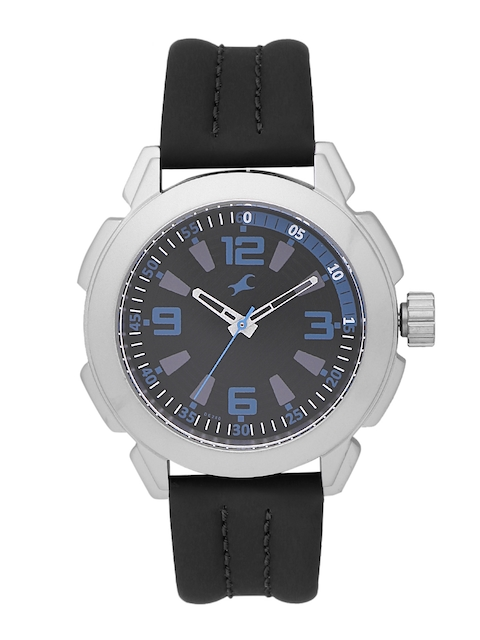 Fastrack Men Black Analogue Watch NK3130SL02_BBD