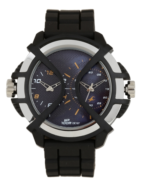 Fastrack Men Blue Analogue Watch NK38016PP01_BBD