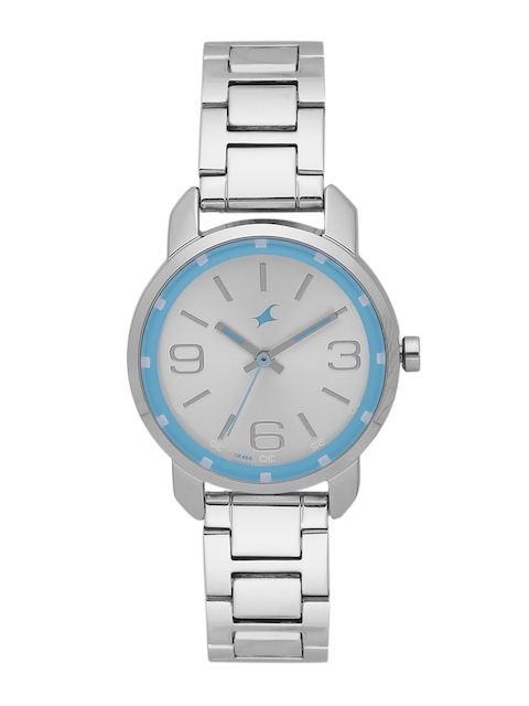 Fastrack Women Silver-Toned Analogue Watch NK6111SM01