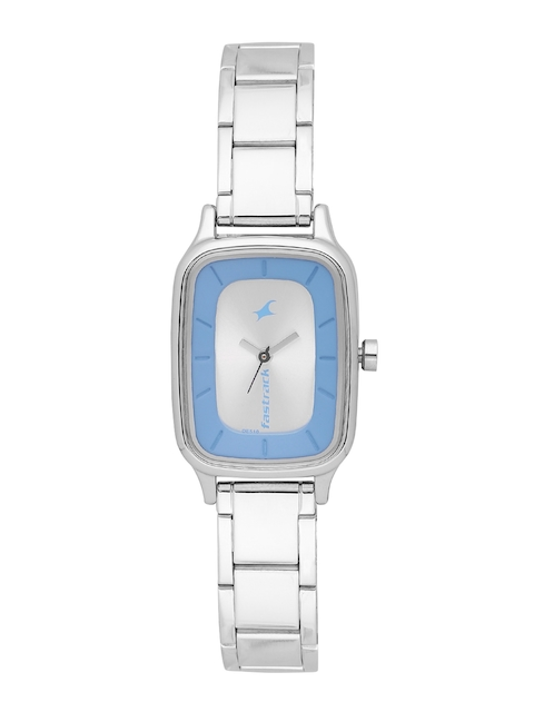 Fastrack Women Silver-Toned Analogue Watch NK6121SM01