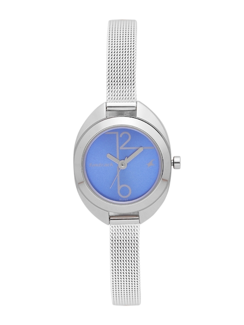 Fastrack Women Blue Analogue Watch