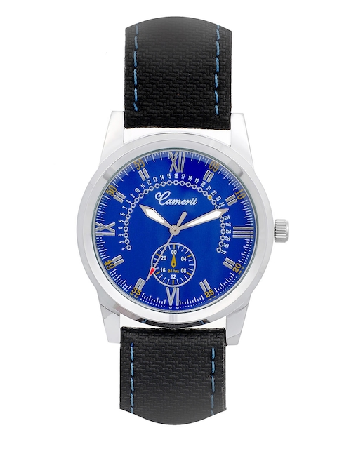 Camerii Men Blue Analogue Watch