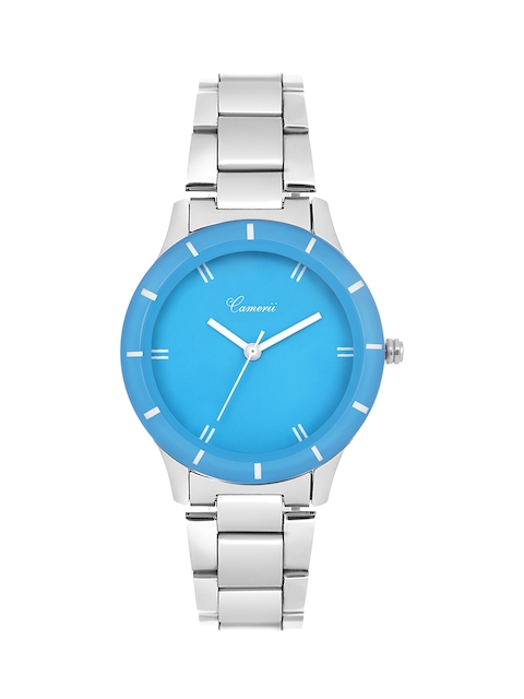 Camerii Women Blue Analogue Watch