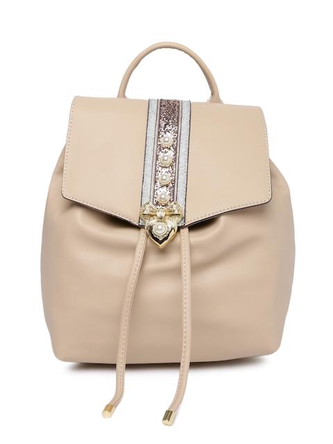 ALDO Women Pink Embellished Backpack