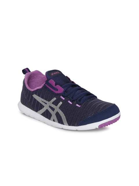ASICS Women Navy Blue METROLYTE Walking Shoes