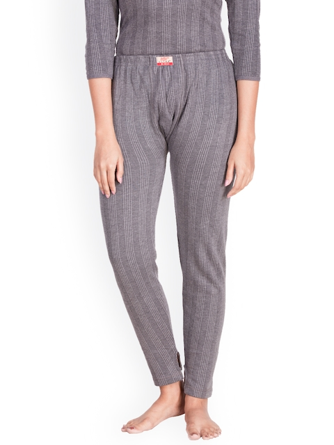 Dollar Ultra Grey Self-Design Thermal Trousers
