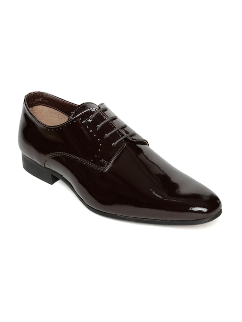 Urban Country Men Brown Formal Oxfords
