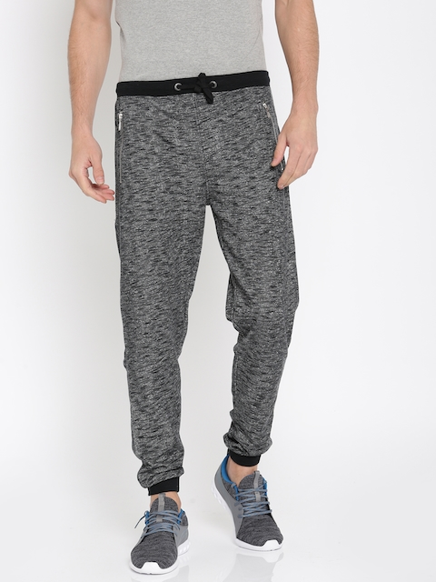 Pepe jeans Charcoal Grey & White Joggers