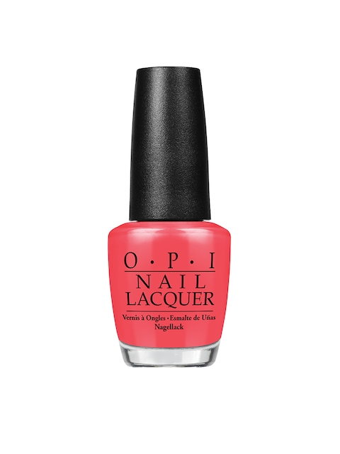 O.P.I Red Lights Ahead Where Nail Lacquer 15 ml