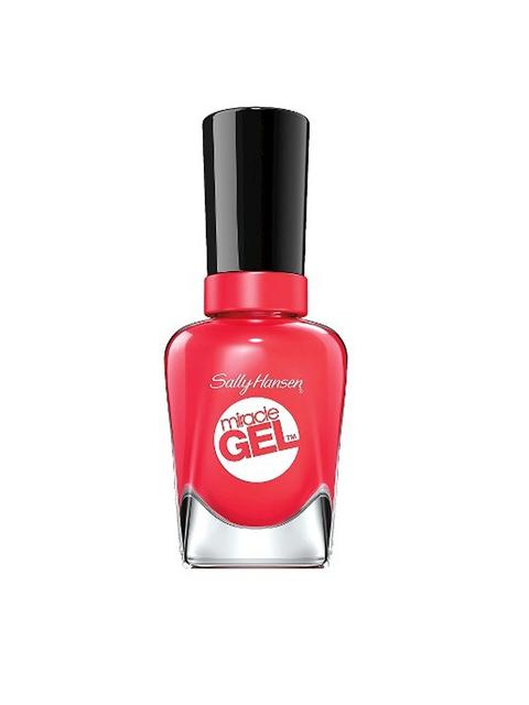 Sally Hansen Red Miracle Gel Redgy Nail Polish 14.7 ml