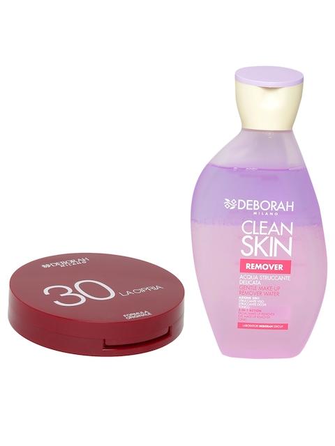 Deborah Milano 3-in-1 Water Makeup Remover & La Cipria Sand Compact 33