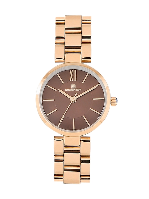 Dsigner Women Brown Analogue Watch 720RGM.3.L
