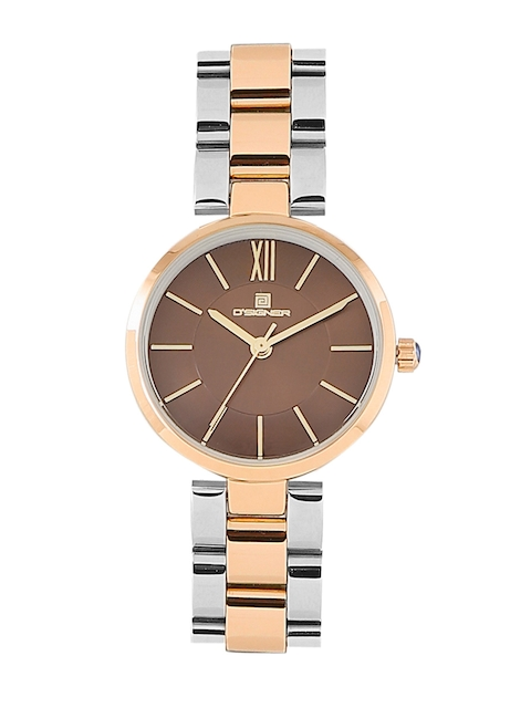 Dsigner Women Brown Analogue Watch 720RTM.3.L
