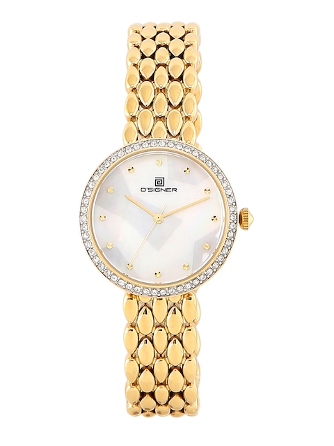 Dsigner Women White Analogue Watch 750GM.6