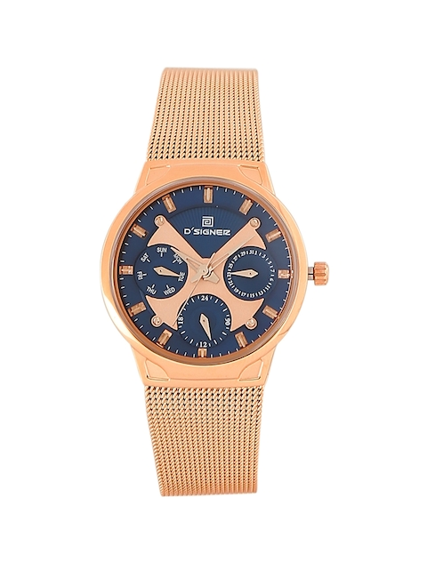Dsigner Women Blue Analogue Watch 740RGM.5