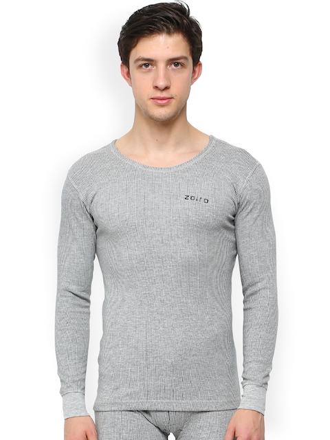 Zoiro Grey Melange Thermal Top