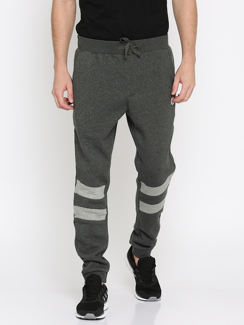 French Connection Charcoal Grey Solid Joggers