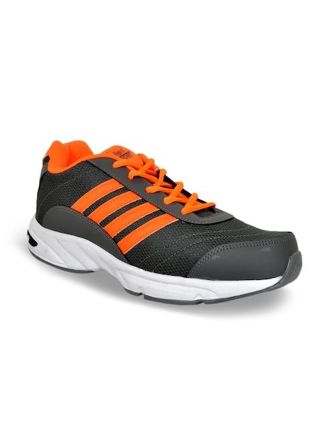 Allen Cooper Men Grey Running Shoes