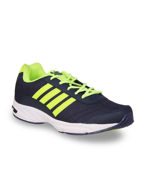 Allen Cooper Men Navy Blue Running Shoes