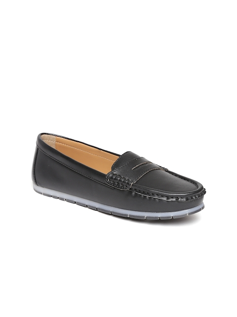 Carlton London Women Black Loafers