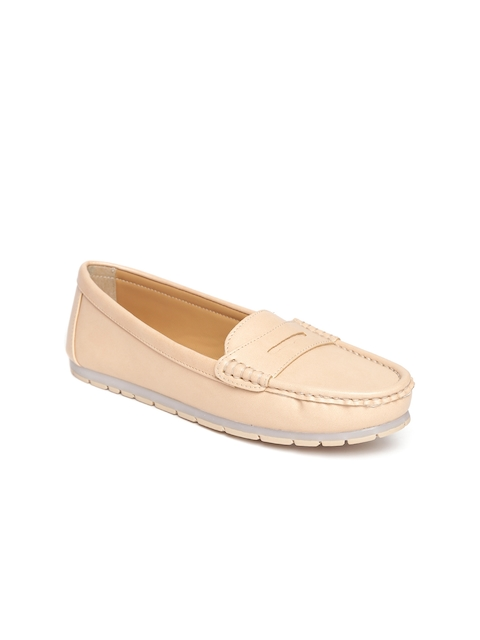 Carlton London Women Nude-Coloured Loafers