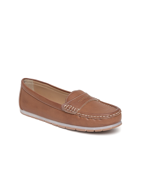 Carlton London Women Brown Loafers