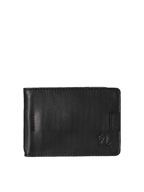 Kara Men Black Solid Money Clip