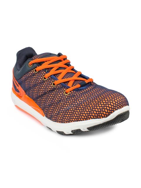 Columbus Men Orange & Blue ECO-19 Training or Gym Shoes