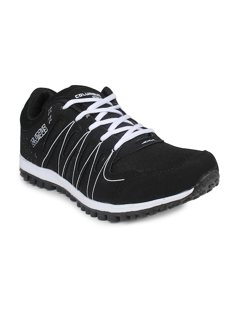Columbus Men Black Training or Gym Shoes TR-8