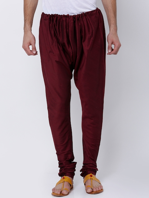 Svanik Men Maroon Pyjamas