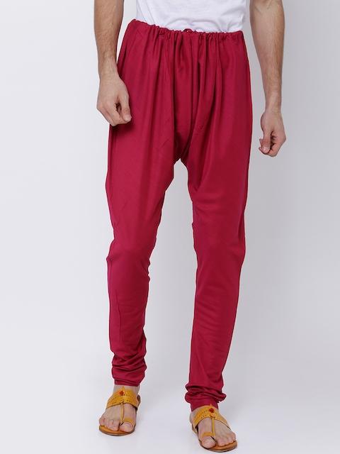 Svanik Men Burgundy Pyjamas