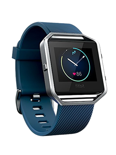 Fitbit Unisex Navy Blaze Smart Fitness Watch FB502SBUS