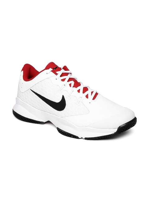 Nike Men White AIR ZOOM ULTRA Tennis Shoes