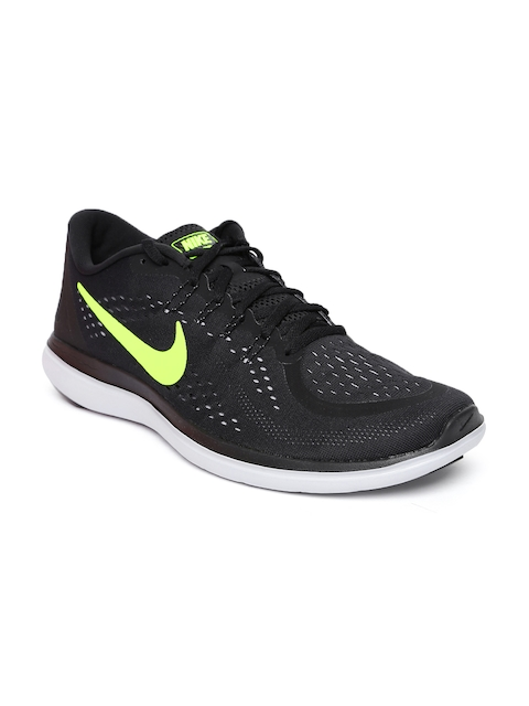 Nike Men Black FLEX 2017 RN Running Shoes