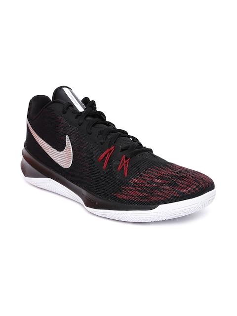 Nike Men Black ZOOM EVIDENCE II Textile Basketball Shoes