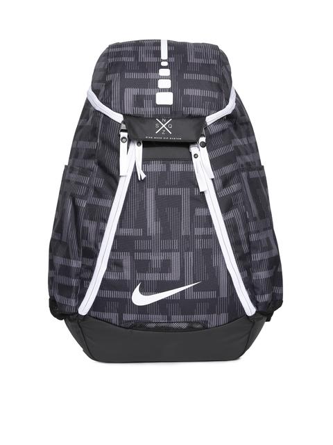 Nike Unisex Grey Graphic Print Max Air AOP Backpack