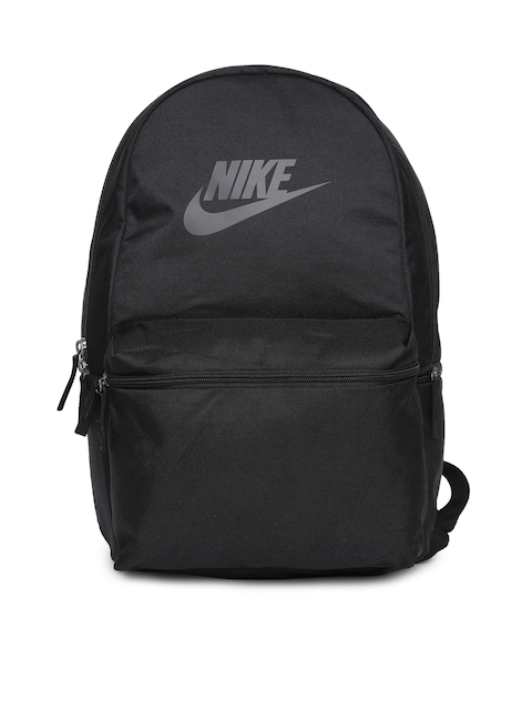 Nike Unisex Black Solid Heritage Backpack