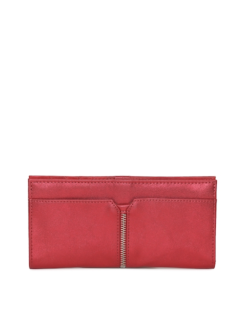 Baggit Women Red Solid Two Fold Wallet