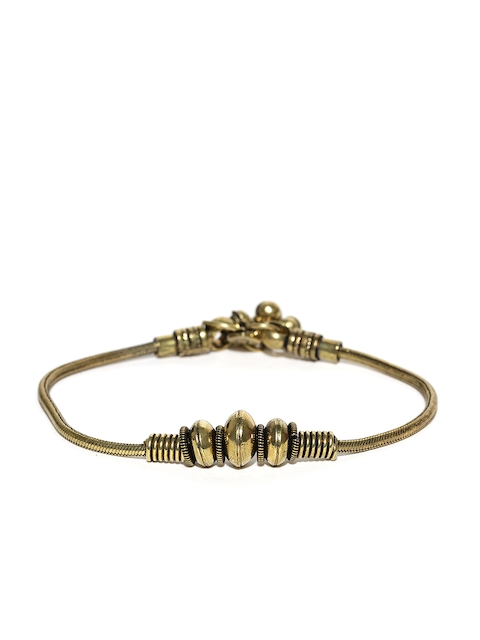 Chika Antique Gold-Toned Anklet