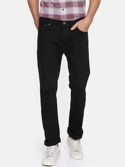 Pepe Jeans Men Black Low-Rise Clean Look Jeans