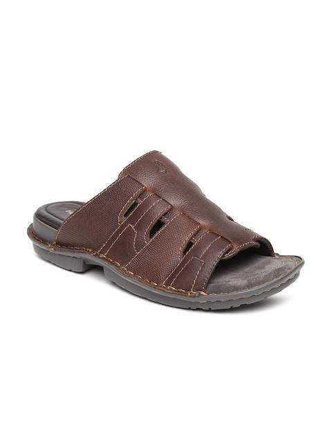 Hush Puppies Men Brown Comfort Sandals