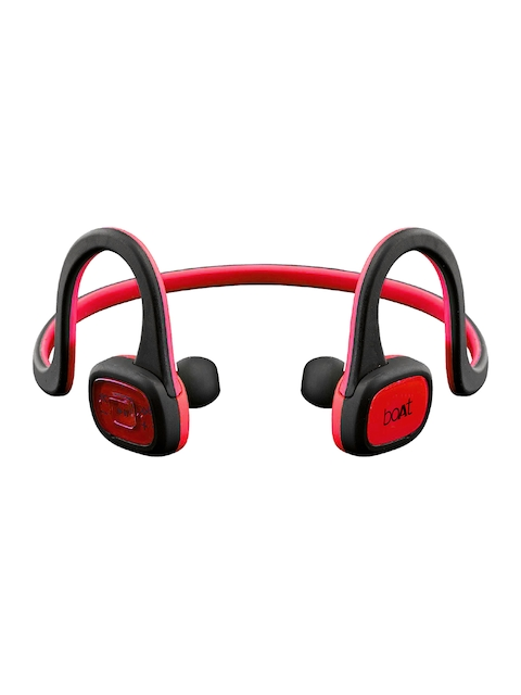 boAt Unisex Red Rockerz 245 Raging In-Ear Headphones
