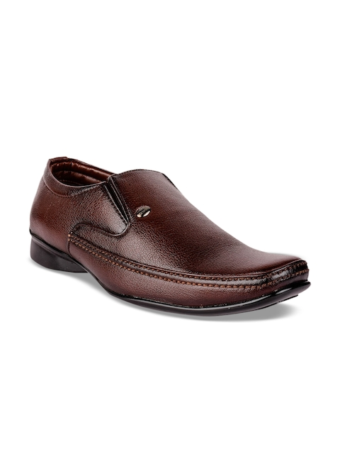 Action Men Brown Semi-Formal Slip-Ons  available at myntra for Rs.999