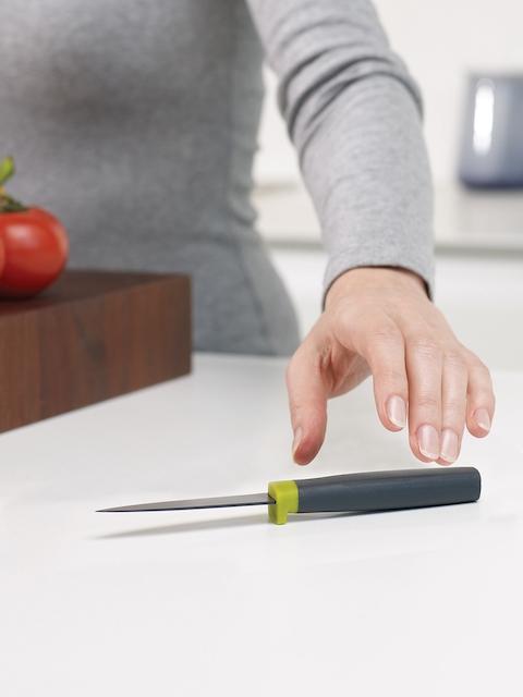 Joseph Joseph Green & Grey Paring Knife